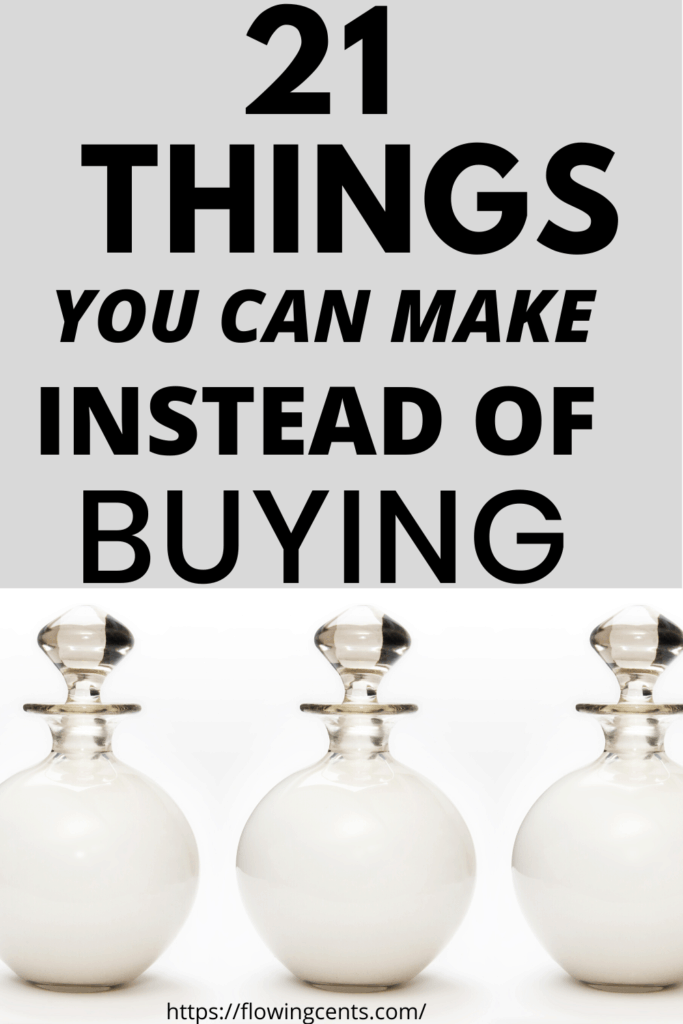 things you should stop making and start buying